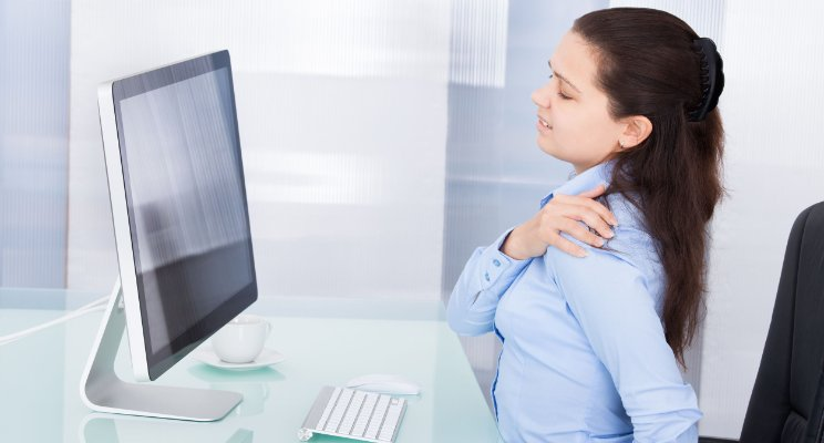 Reason of back, shoulder, neck pain