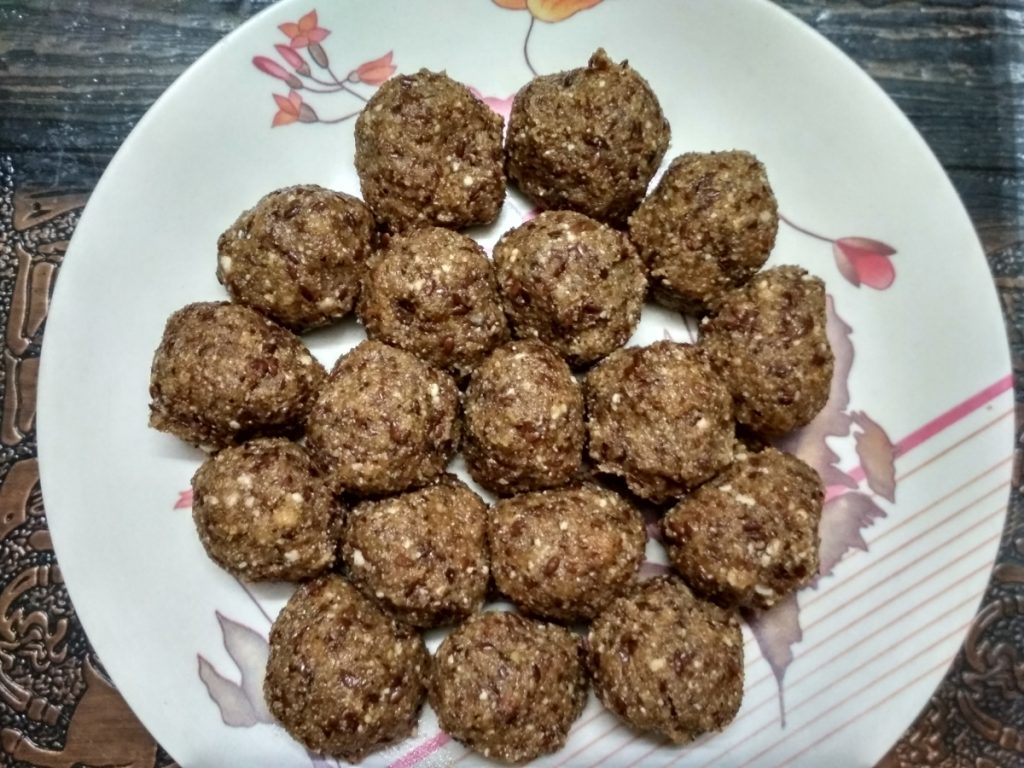 Alsi ladoo Recipe