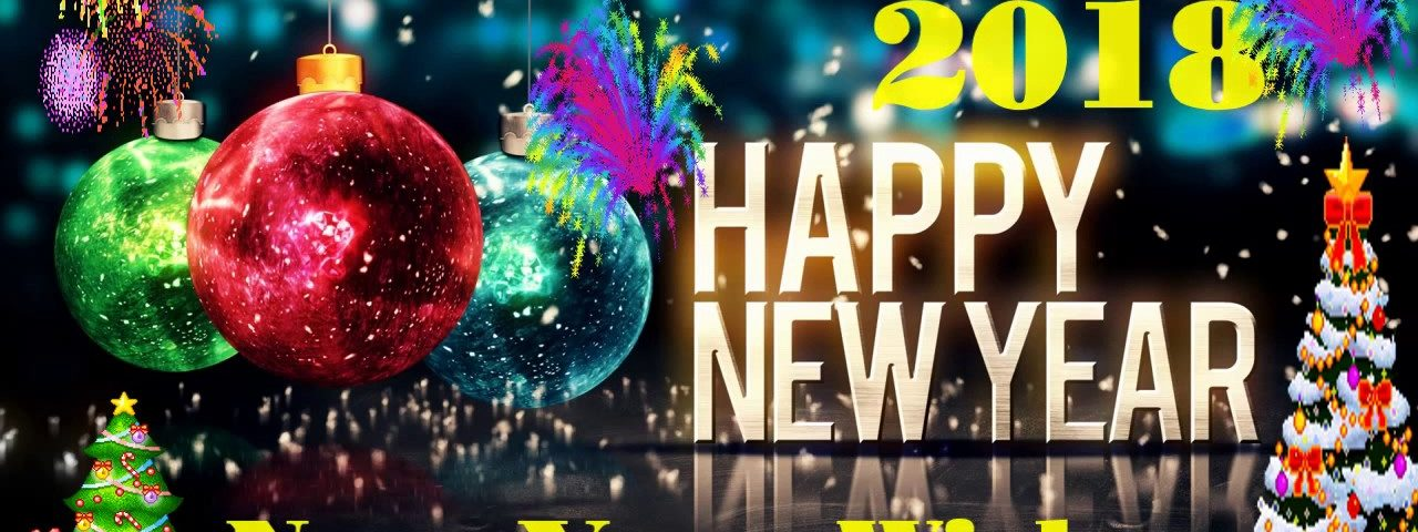 Wish You A Healthy Happy New Year 2018