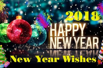 wish a happy new year 2018_